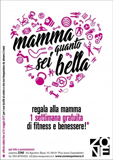 Da ZONE una settimana di fitness gratis per tutte le mamme