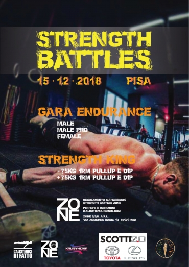 15/12 Calisthenics Strenght Battles